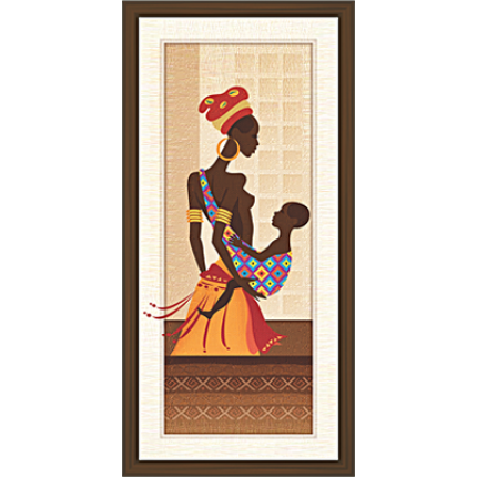 African Modern Art Paintings (A-6961)