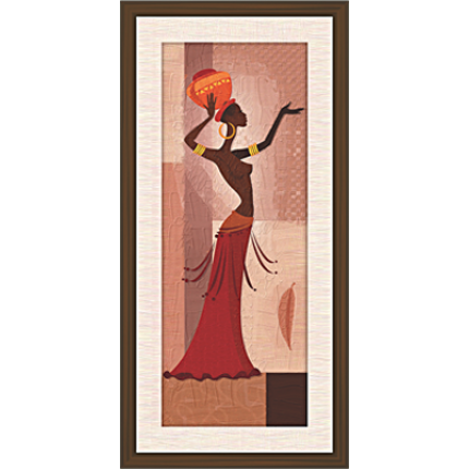African Modern Art Paintings (A-6962)