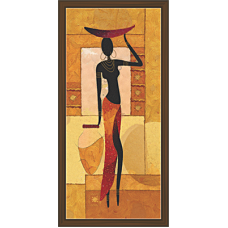 African Modern Art Paintings (A-6965)