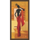 African Modern Art Paintings (A-6966)