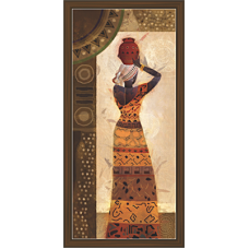 African Modern Art Paintings (A-6967)