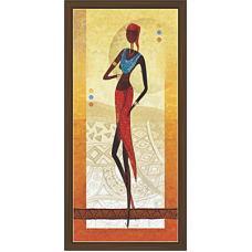 African Modern Art Paintings (A-6974)