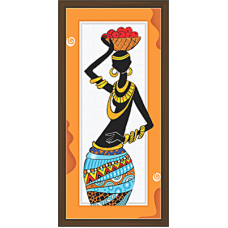African Modern Art Paintings (A-6976)