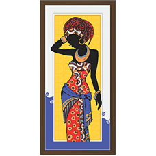 African Modern Art Paintings (A-6980)