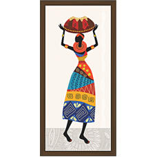 African Modern Art Paintings (A-6982)