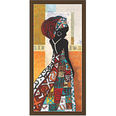 African Modern Art Paintings (A-6984)