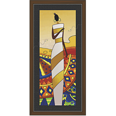 African Modern Art Paintings (A-6988)
