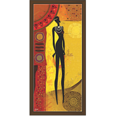 African Modern Art Paintings (A-6989)