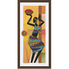 African Modern Art Paintings (A-6991)