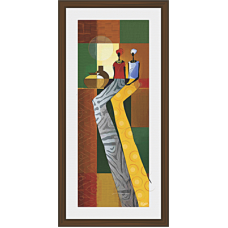 African Modern Art Paintings (A-6994)