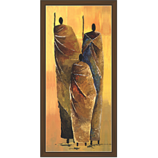 African Modern Art Paintings (A-6995)
