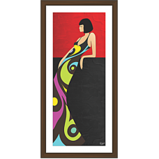 African Modern Art Paintings (A-6997)