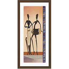 African Modern Art Paintings (A-6999)