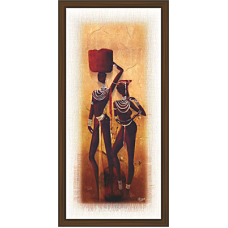 African Modern Art Paintings (A-7018)