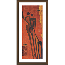 African Modern Art Paintings (A-7024)