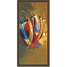 African Modern Art Paintings (A-7025)