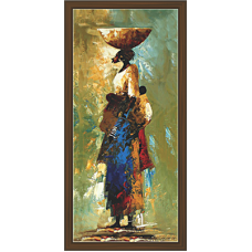 African Modern Art Paintings (A-7026)
