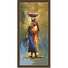 African Modern Art Paintings (A-7028)