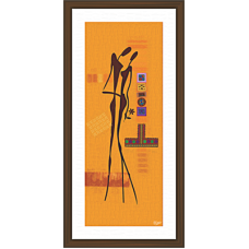 African Modern Art Paintings (A-7029)