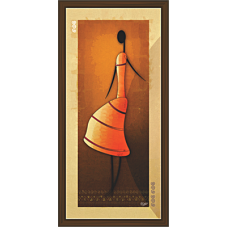 African Modern Art Paintings (A-7092)