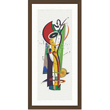 African Modern Art Paintings (A-7111)