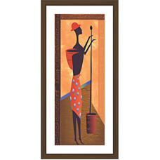 African Modern Art Paintings (A-7119)
