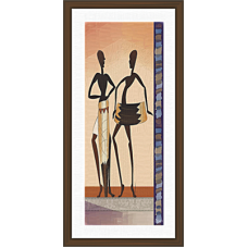 African Modern Art Paintings (A-7130)