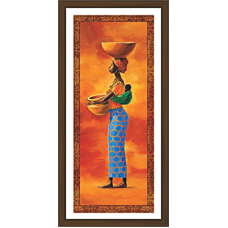 African Modern Art Paintings (A-7141)