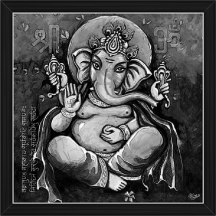 Ganesh Paintings (BW-16485)