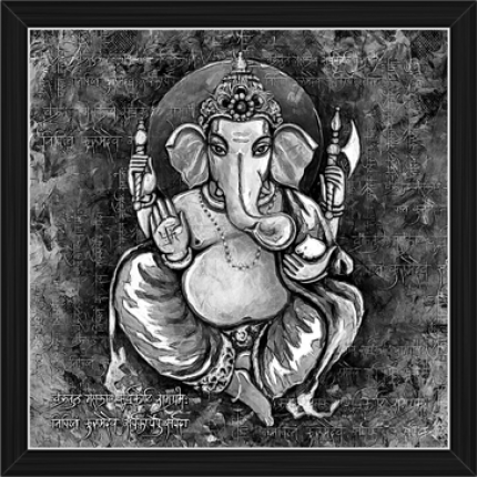 Ganesh Paintings (BW-16486)