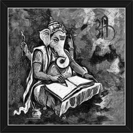Ganesh Paintings (BW-16489)