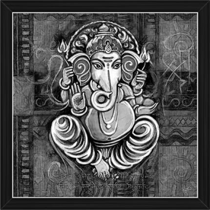 Ganesh Paintings (BW-16490)