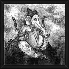 Ganesh Paintings (BW-16494)