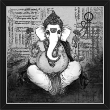 Ganesh Paintings (BW-16496)