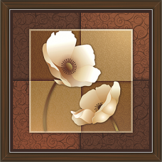 Floral Art Paintings (FS-992)