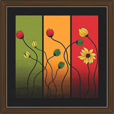 Floral Art Paintings (FS-994)