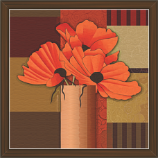 Floral Art Paintings (FSS-1427)