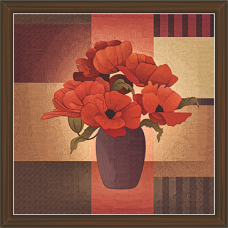 Floral Art Paintings (FSS-1428)