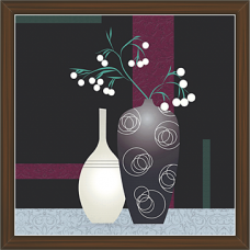 Floral Art Paintings (FSS-1429)