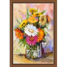 Floral Art Paintiangs (F-10185)