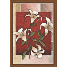 Floral Art Paintiangs (F-10192)