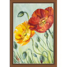 Floral Art Paintiangs (F-10197)
