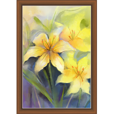 Floral Art Paintiangs (F-10198)