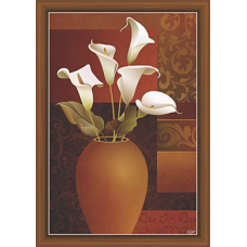 Floral Art Paintiangs (F-10232)