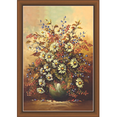 Floral Art Paintiangs (F-10285)