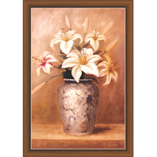 Floral Art Paintiangs (F-10290)