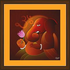 Ganesh Paintings (GS-1961)