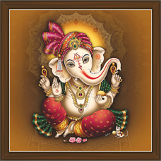 Ganesh Paintings (GS-1835)
