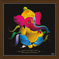 Ganesh Paintings (GS-1881)