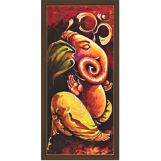 Ganesh Paintings (G-1653)